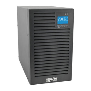 Tripp Lite 2000VA 1800W SmartOnline 230V On-Line Double-Conversion UPS, Tower, Extended Run, Network Card Options, LCD, USB, DB9