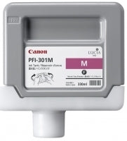 Canon PFI-301M Pigment Magenta Ink Cartridge Original