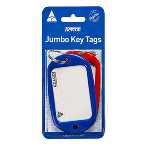 KEVRON ID10 KEYTAGS JUMBO ASSORTED PACK 2