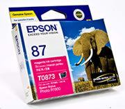 Epson UltraChrome Hi-Gloss2 Magenta Ink Cartridge Original
