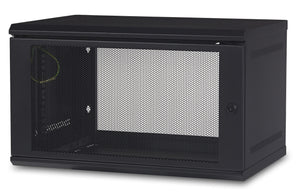 APC AR106 rack cabinet 6U Wall mounted rack Black