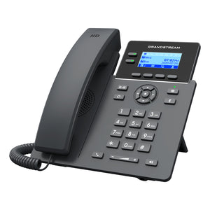 Grandstream Networks GRP2602P IP phone Black 2 lines LCD Wi-Fi