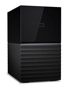 WESTERN DIGITAL My Book Duo 20TB Desktop RAID External Hard Drive USB 3.1 Gen2 - Black