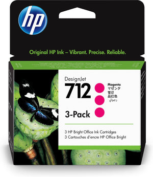 HP 712 Original Magenta 3 pc(s)