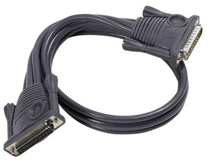 Aten Daisy Chain Cable, 15m KVM cable Black