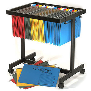 CRYSTALFILE SUSPENTION FILE / BINDER TROLLEY