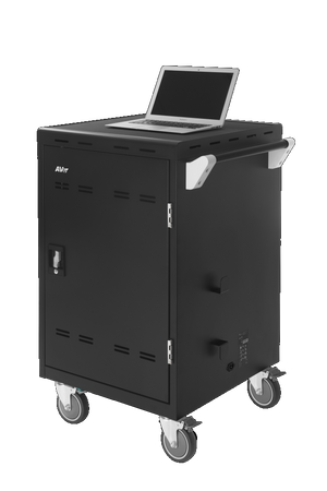 AVerMedia 25Kg+ Freight Rate- 24 bays, tablets, laptops & Chromebooks Charge Cart