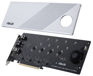 ASUS Hyper M.2 x16 Gen 4 Card interface cards/adapter Internal