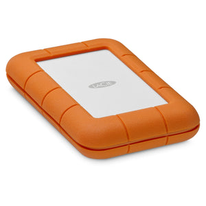 LaCie Rugged Secure external hard drive 2000 GB Orange,White