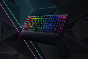 Razer BlackWidow V3 Pro keyboard USB + RF Wireless + Bluetooth QWERTY US English Black