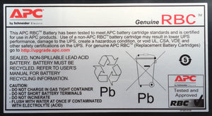 APC RBC55 UPS battery Sealed Lead Acid (VRLA)