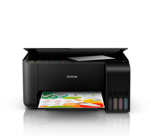 EPSON EXPRESSION ET-2710 ECOTANK 4 CLR INTEGRATED INK MULTIFUNCTION PRINTER