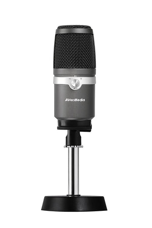 AVerMedia AM310 PC microphone Black,Silver
