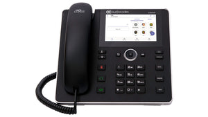 AudioCodes C450HD IP phone Black 8 lines TFT Wi-Fi