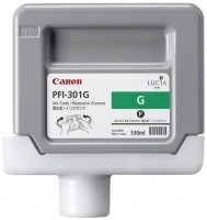 Canon PFI-301G Pigment Green Ink Cartridge Original
