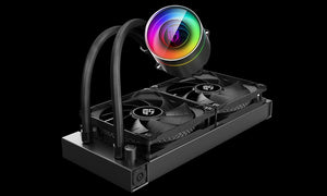 Deepcool GamerStorm CASTLE 240EX  CPU Liquid Cooler Intel LGA20XX/1151/1150/1155/LGA1366 AMD TR4 AM4 AM3+ AM3