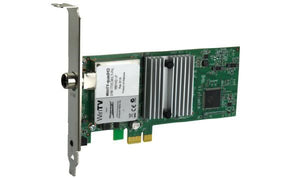 HAUPPAUGE TV QuadHD Four HDTV Tuners in one PCIe card with Remote for Windows Watch or record up to four TV ch