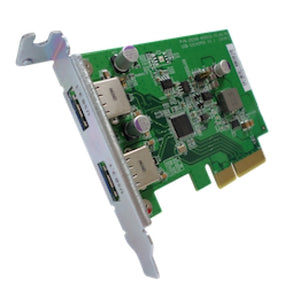QNAP USB-U31A2P01 interface cards/adapter USB 3.2 Gen 1 (3.1 Gen 1) Internal