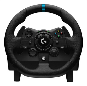 Logitech G G923 Black USB Steering wheel + Pedals PC, Xbox