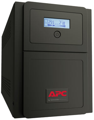 APC Easy UPS SMV uninterruptible power supply (UPS) Line-Interactive 1000 VA 700 W 6 AC outlet(s)