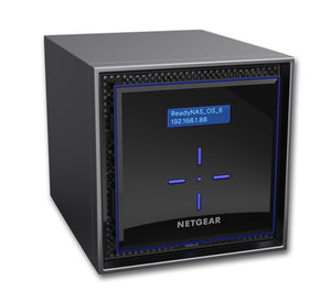 NETGEAR ReadyNAS 424- 4 Bay Network Attached Storage