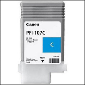 CANON PFI-107C INK CARTRIDGE 130ML CYAN