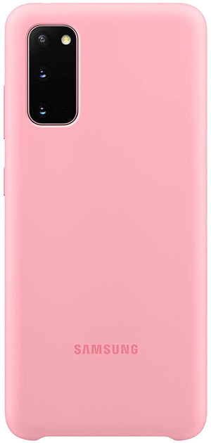 Samsung S20 Ultra Silicone Cover - Pink