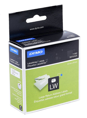 DYMO Large Return Address Labels - 36 x 89 mm - S0722520