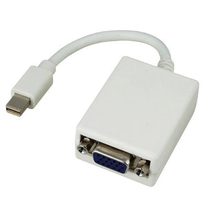 8WARE Mini DisplayPort DP 20-pin to VGA 15-pin 20cm Male to Female Adapter Cable