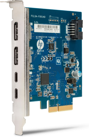 HP 3UU05AA interface cards/adapter Internal DisplayPort, Thunderbolt 3