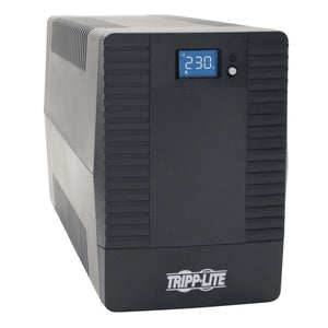 Tripp Lite 850VA 480W Line-Interactive UPS with 6 C13 Outlets - AVR, 230V, C14 Inlet, LCD, USB, Tower