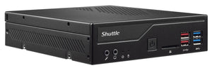 Shuttle XPС slim DH370 PC/workstation barebone 1.3L sized PC Black Intel® H370 LGA 1151 (Socket H4)