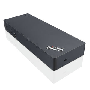 Lenovo ThinkPad Thunderbolt 3 Dock Wired Black