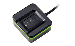 2N Telecommunications 9137423E fingerprint reader USB 2.0 Black,Green