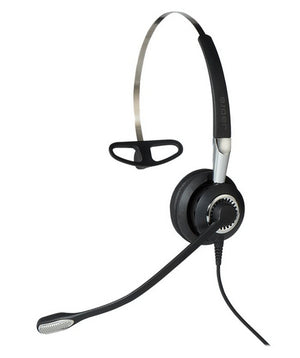 Jabra BIZ 2400 II QD Mono NC Headset Head-band Black