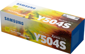 Samsung CLTY504S Yellow Toner