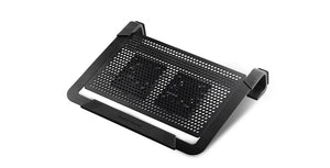 "Cooler Master NotePal U2 Plus notebook cooling pad 43.2 cm (17"") Black"