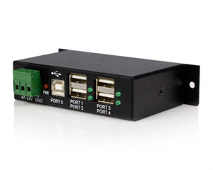 StarTech.com 4-Port Industrial USB 2.0 Hub with ESD Protection