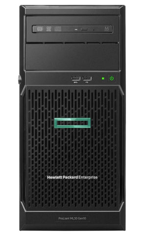 Hewlett Packard Enterprise ProLiant ML30 Gen10 server Intel® Xeon® 3.4 GHz 16 GB DDR4-SDRAM 56 TB Tower (4U) 350 W