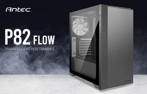 Antec P82 Flow 4x 140mm White Fan. Extreme Cooling Configurations, VGA 380mm, CPU 178mm, PSU 220mm,  ATX,