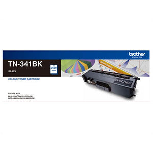 BROTHER TN-341BK LASER TONER BLACK