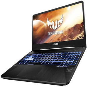 ASUS TUF Gaming FX505DT-HN462T notebook Black 39.6 cm (15.6) 1920 x 1080 pixels AMD Ryzen 5 8 GB DDR4-SDRAM 1512 GB HDD+SSD NVIDIA® GeForce® GTX 1650 Wi-Fi 5 (802.11ac) Windows 10 Home