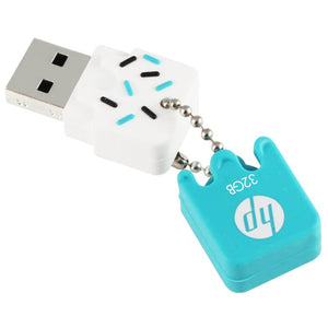 HP v178b USB flash drive 32 GB USB Type-A 2.0 Blue, White