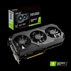 ASUS TUF Gaming TUF3-GTX1660-A6G-GAMING NVIDIA GeForce GTX 1660 6 GB GDDR5