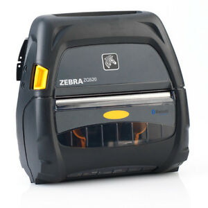 ZEBRA ZQ520 MOBILE PRINTER 4IN BT WIFI
