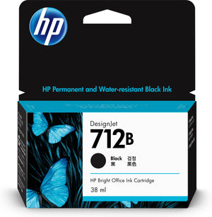 HP 712B Original Black 1 pc(s)