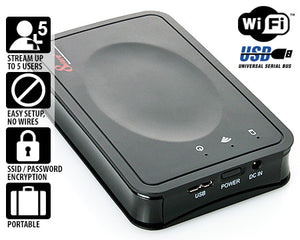 8WARE Heli-Shell WiFi 2.5 HDD/SSD Storage Device