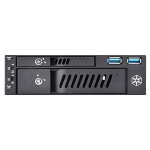 Silverstone FP510 2.5/3.5 HDD/SSD enclosure Black