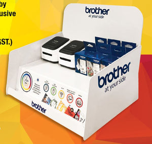 Brother VC-500W Colour Label Printer Starter Kit Bundle - Save over 15%