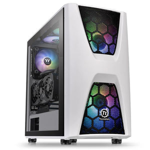 Thermaltake Commander C34 TG Snow ARGB Edition Midi Tower Black,White